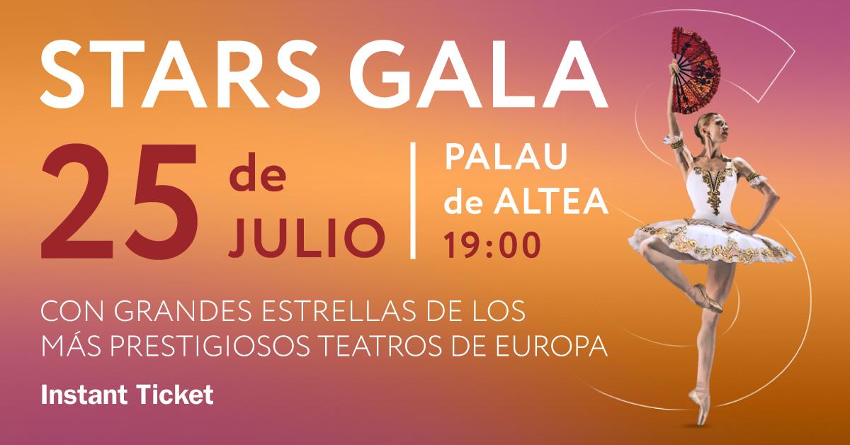 Stars Gala en el Palau Altea