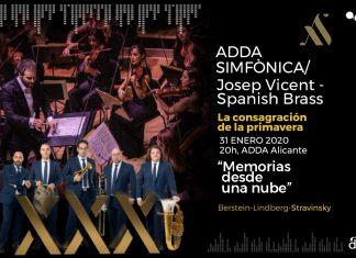ADDA Simfònica y Spanish Brass