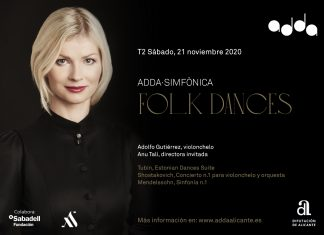 Folk Dances en el ADDA