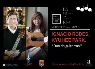 Dúo de guitarras Rodes-Park en el ADDA