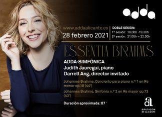Essentia Brahms en el ADDA