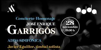 Concierto Homenaje a José Enrique Garrigós ADDA