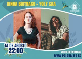 Ainoa Buitrago y Yoly Saa en concierto en el Palau Altea