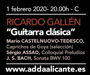 Ricardo Gallén en el ADDA