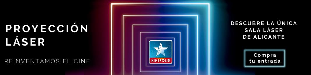 Proyección Láser en Kinépolis