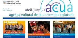 Programación agenda ACUA abril-junio 2021