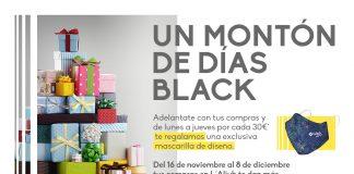 Días Black en el Centro Comercial L'Aljub Elche
