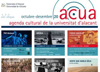 Programación agenda ACUA primer cuatrimestre 2020/2021