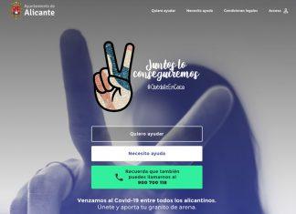 Alicante lanza una aplicación para canalizar la solidaridad entre vecinos durante la cuarentena
