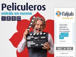 Peliculeros: entradas de cine gratis en el CC l'Aljub