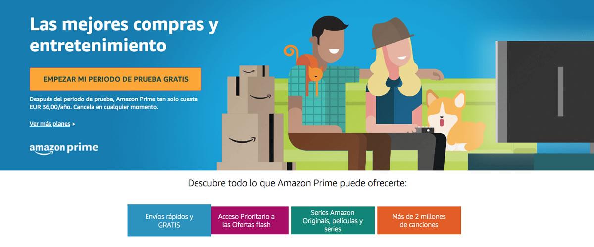 Prueba gratuita Amazon Prime Video