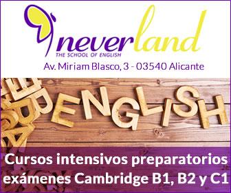 Curso de inglés intensivos Neverland Alicante