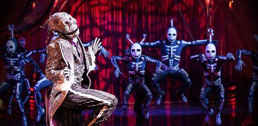 Circo del Sol espectáculo online gratis 10 abril