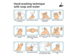 Cómo lavarse correctamente la manos evitar contagio coronavirus