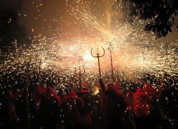 Correfocs Carnaval Alicante 2020