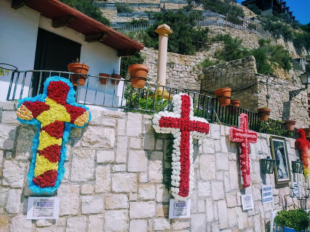 Cruces de Mayo barrio Santa Cruz Alicante