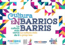 Cultura en Barrios abril-junio-2021