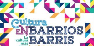 Cultura en Barrios abril-junio-2021