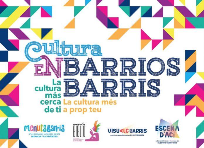 Cultura en Barrios octubre-diciembre 2021
