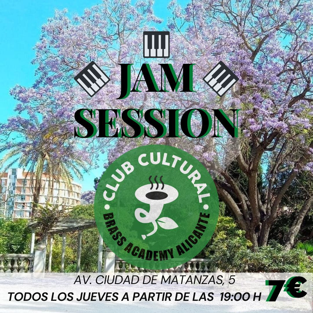 Jam Session Club Cultural Brass Academy