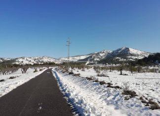 Dónde ver nieve en Alicante este fin de semana