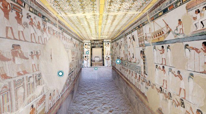 Egipto tumbas visita virtual