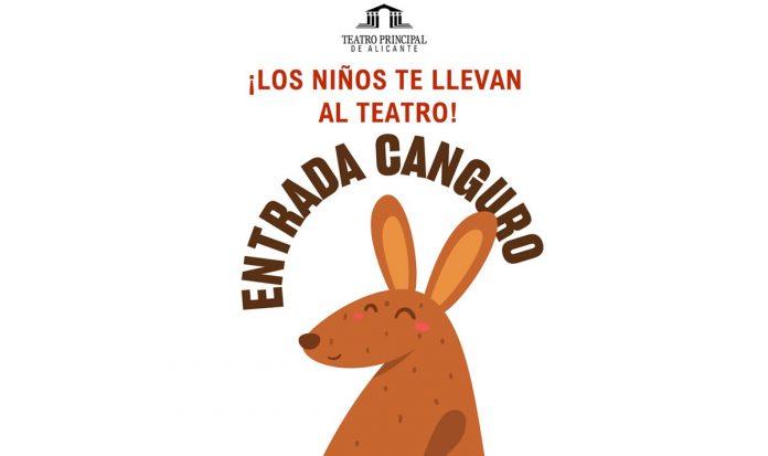 Entrada Canguro Teatro Principal de Alicante