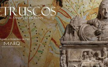Exposición Etruscos. El amanecer de Roma en el Marq