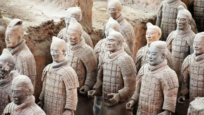 Exposición guerreros de Xian Marq