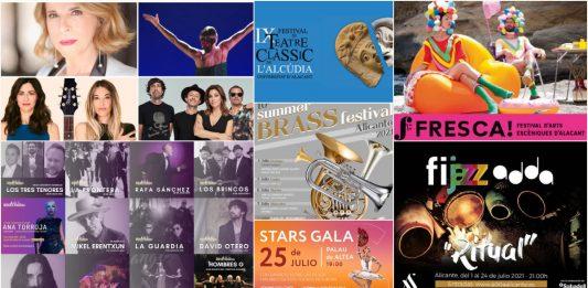 Festivales Alicante verano