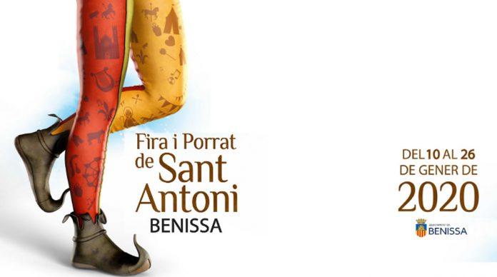 Fira i Porrat Sant Antoni Benissa 2020