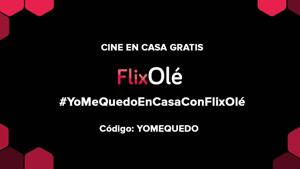 FlixOlé ofrece cine online gratis durante la cuarentena