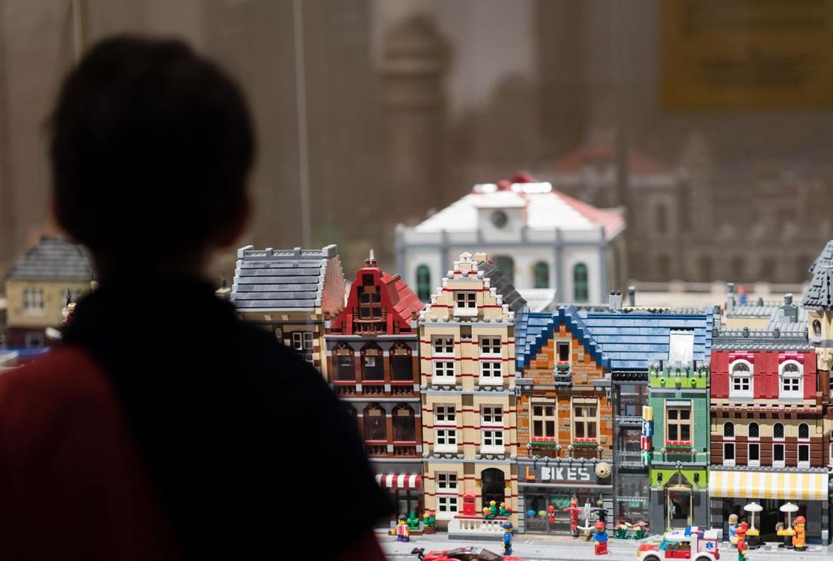 Exposición I love lego en Alicante