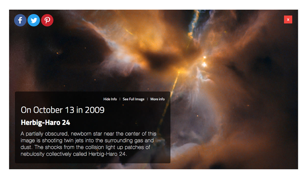 La NASA en casa - Hubble cumpleaños