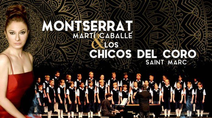 Monsterrat Martí Caballé y Los Chicos del Coro