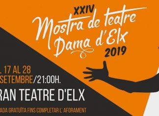 Programación Mostra de Teatre Dama d'Elx 2019