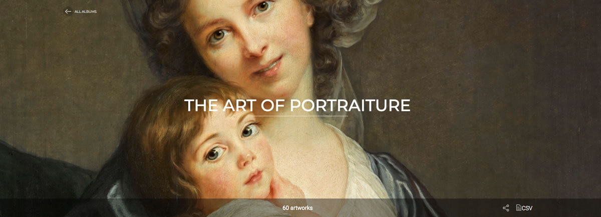 Museo Louvre online El arte del retrato