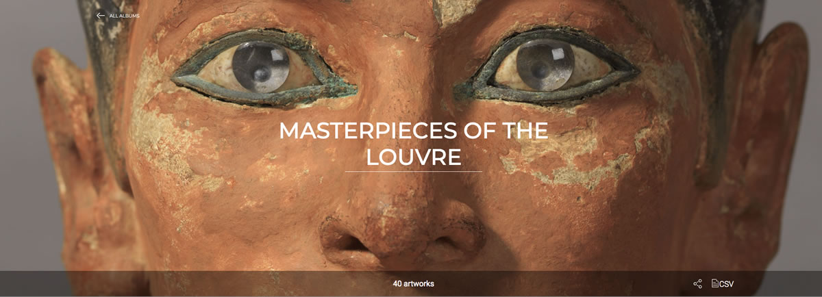 Museo Louvre online obras maestras