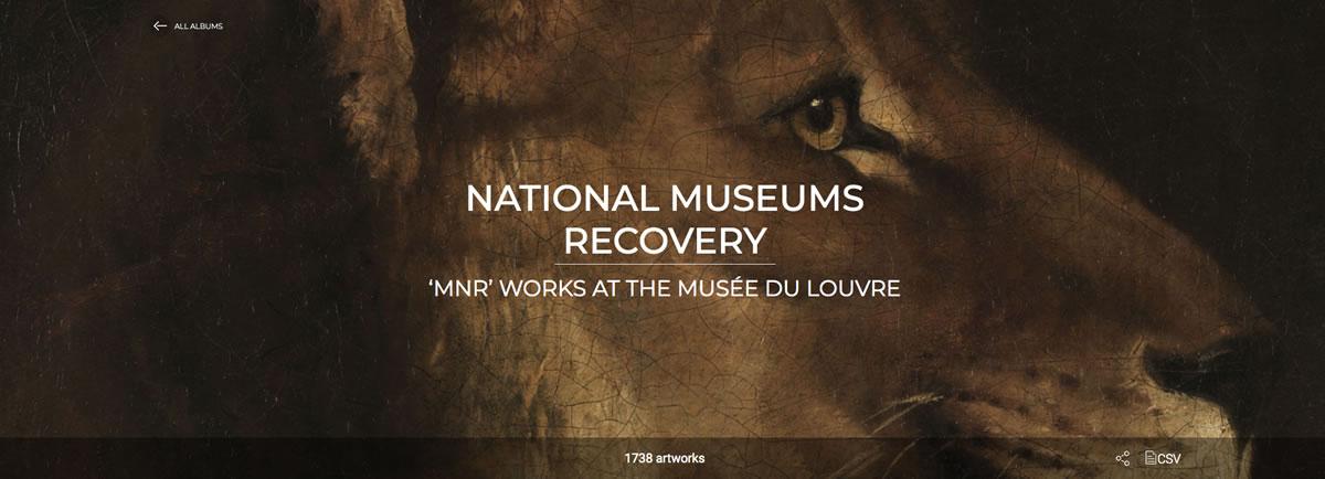 Álbum Louvre recuperación museos nacionales
