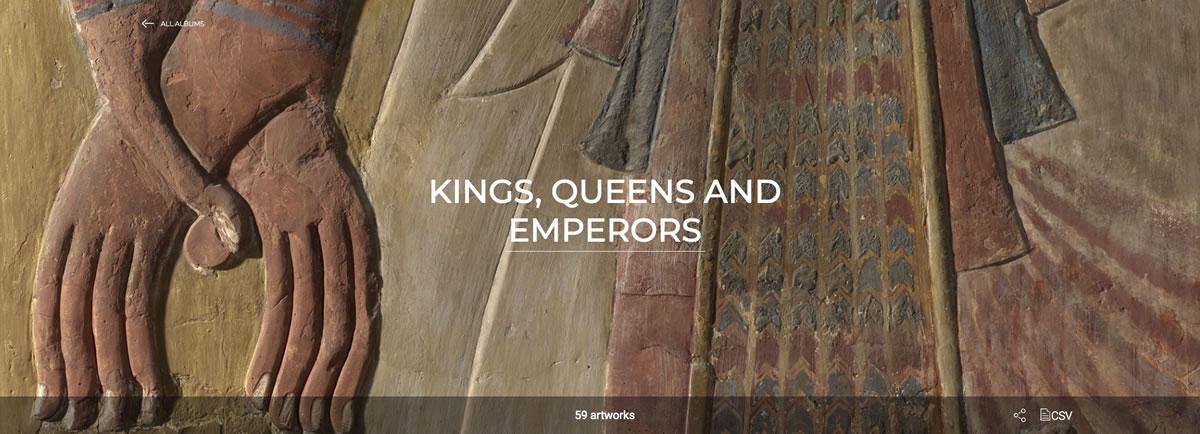 Museo Louvre online Reyes, reinas y emperadores