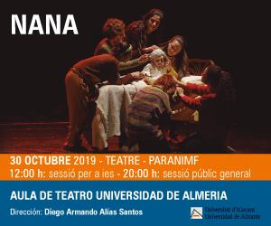 Nana, teatro en la UA
