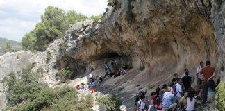 Visitas guiadas pinturas rupestres La Sarga Alcoy