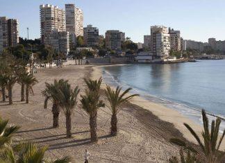 Playa La Albufereta Alicante