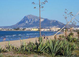 Playa Les Marines Denia
