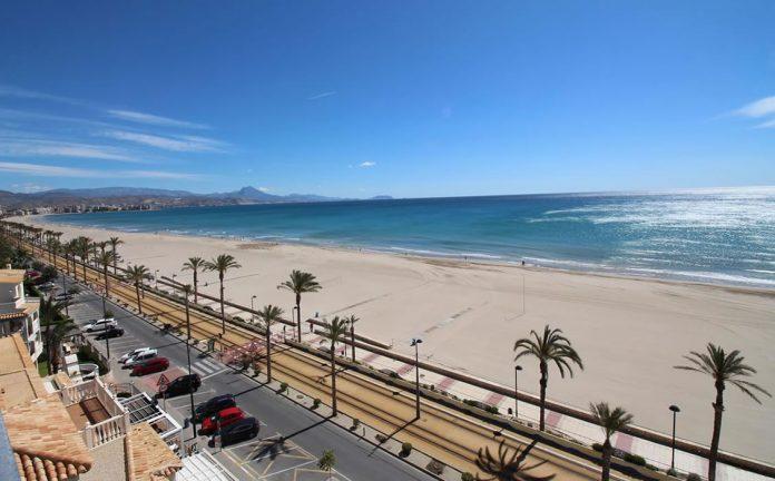 Playa Muchavista en El Campello