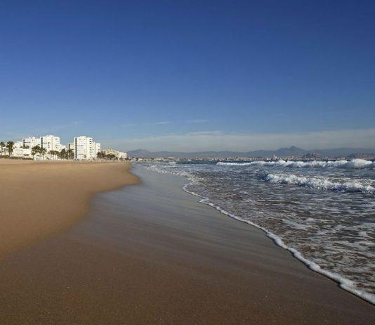 Playa del Saladar-Urbanova en Alicante