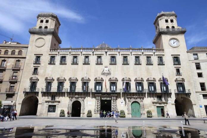Plaza Ayuntamiento de Alicante