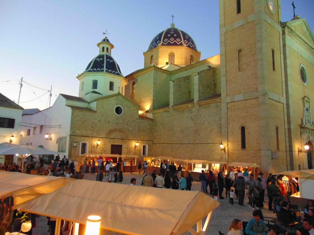 plaza de la Iglesia Altea