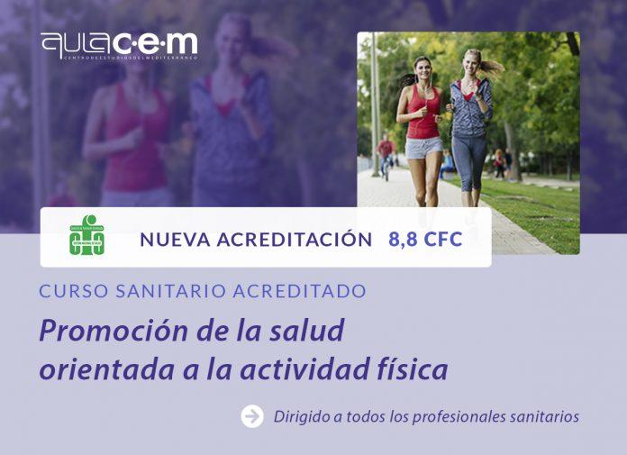 Cursos promoción de la Salud orientada a la actividad física