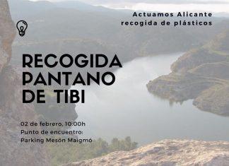 Jornada recogida de residuos Pantano de Tibi